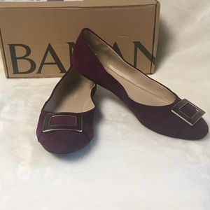 Banana Republic wine ballet / loafers shoes